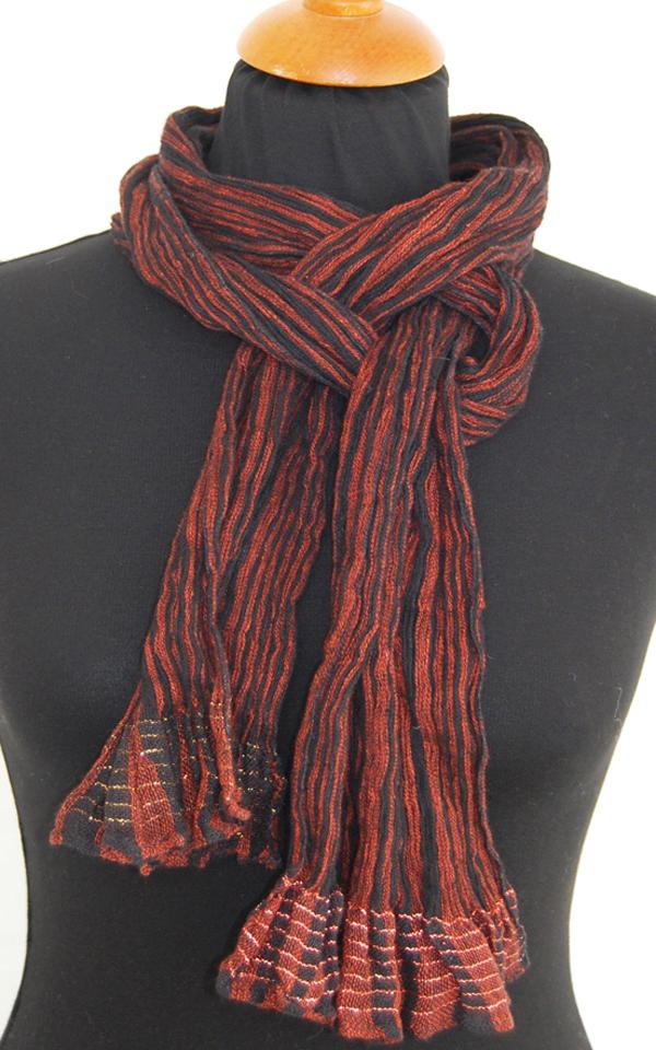 Væv P3: Smalt hør tørklæde