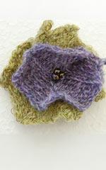 Strik P10: Blomst